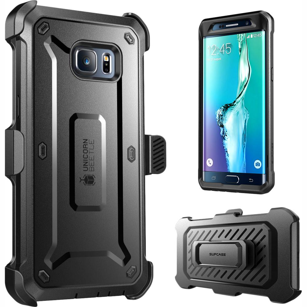 brand new 43848 eebf5 SUPCASE Galaxy S6 Edge Plus Unicorn Beetle Pro Series Holster Case, Black