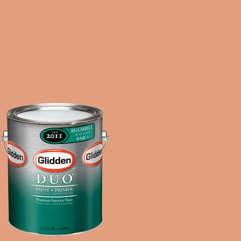 Glidden DUO Martha Stewart Living 1-gal. #MSL014-01E Punch Eggshell Interior Paint with Primer-DISCONTINUED
