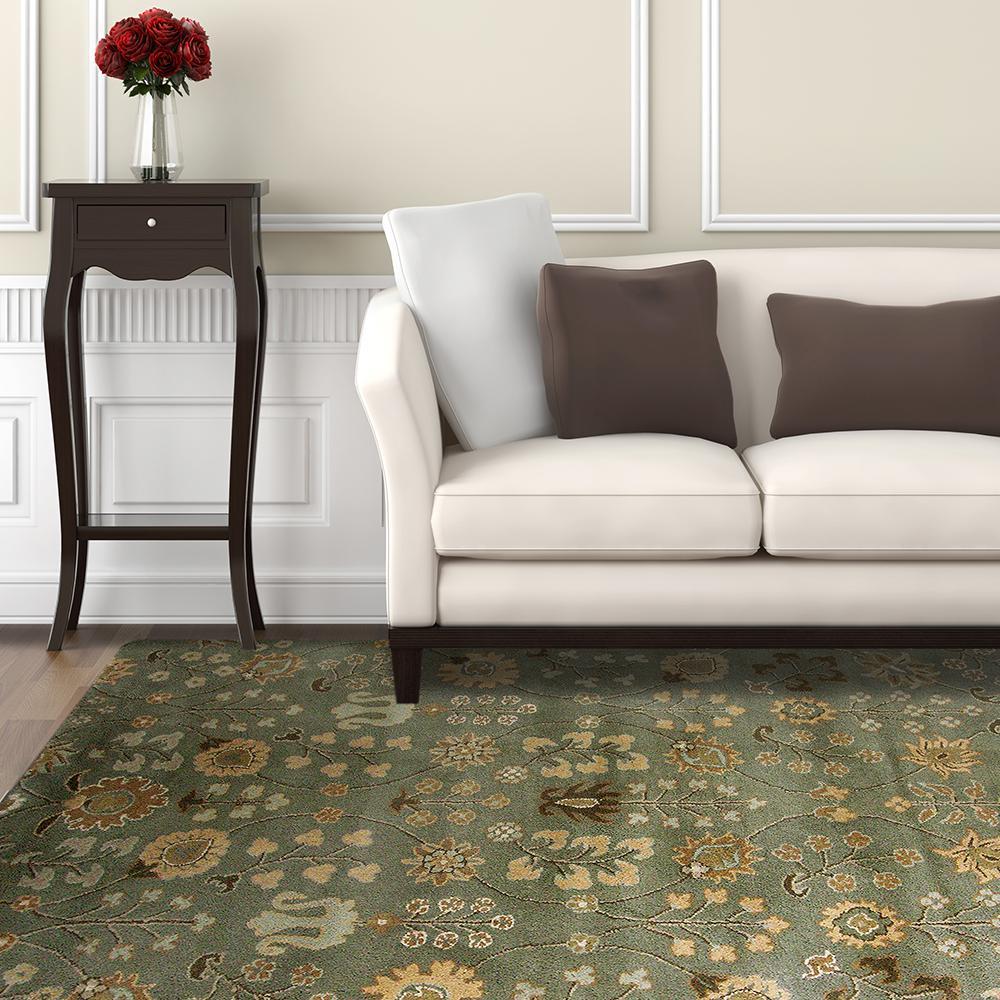 Home Decorators Collection Provencial Summer Wool 8 ft. x 10 ft. Area Rug by Home Decorators Collection