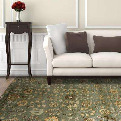 Provencial Summer Wool 8 ft. x 10 ft. Area Rug