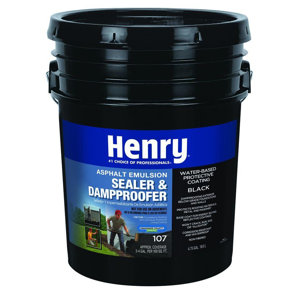 Henry 4 75 Gal  107 Asphalt Roof Coating Emulsion