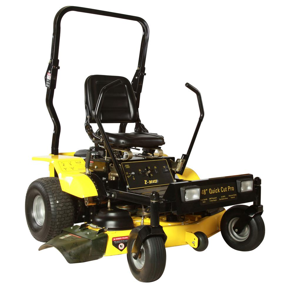 54 in. Zero Turn Commercial Mower with a 22 HP Subaru V-Twin Engine Hydrostatic with Free Roll Bar and Headlights