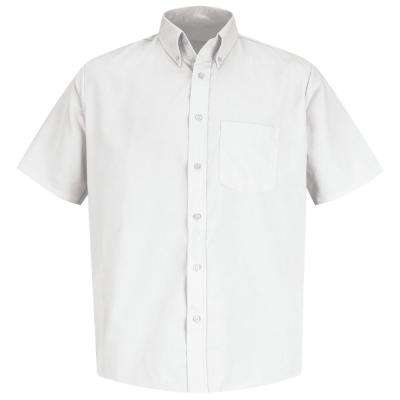 Men's Size Small White Easy Care Dress Shirt