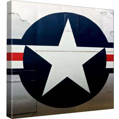 15 in. x 15 in. ''Air Power Park 5'' Printed Canvas Wall Art