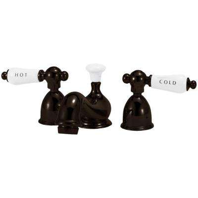 4 in. Minispread 2-Handle Mid Arc Bathroom Faucet in Oil Rubbed Bronze