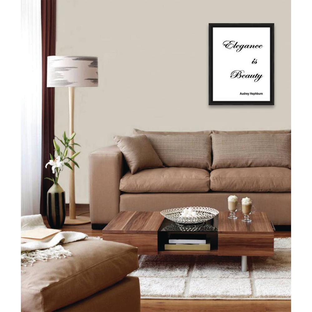 16 in. x 20 in. ''ELEGANCE IS BEAUTY'' By PTM Images