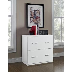 Ordinaire +2. Ameriwood Home Marston White Lateral File Cabinet