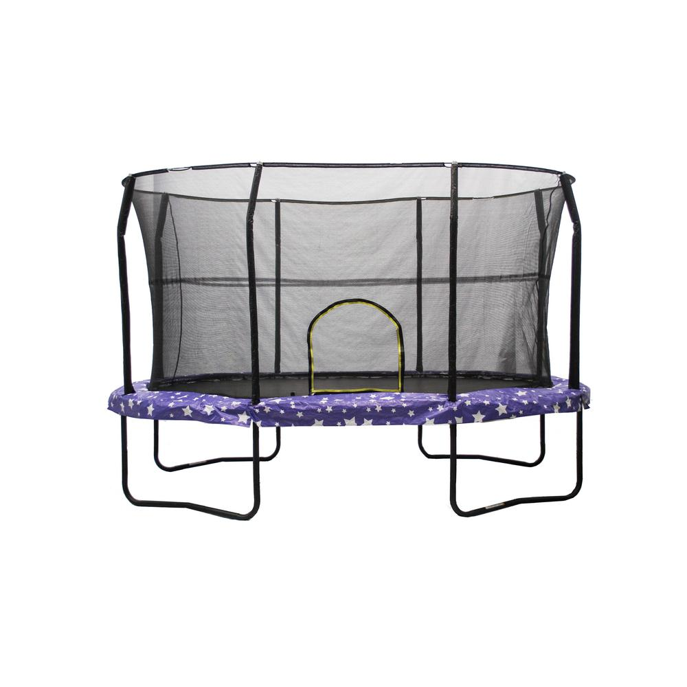 8 ft. by 12 ft. American Star Trampoline Enclosure Combo