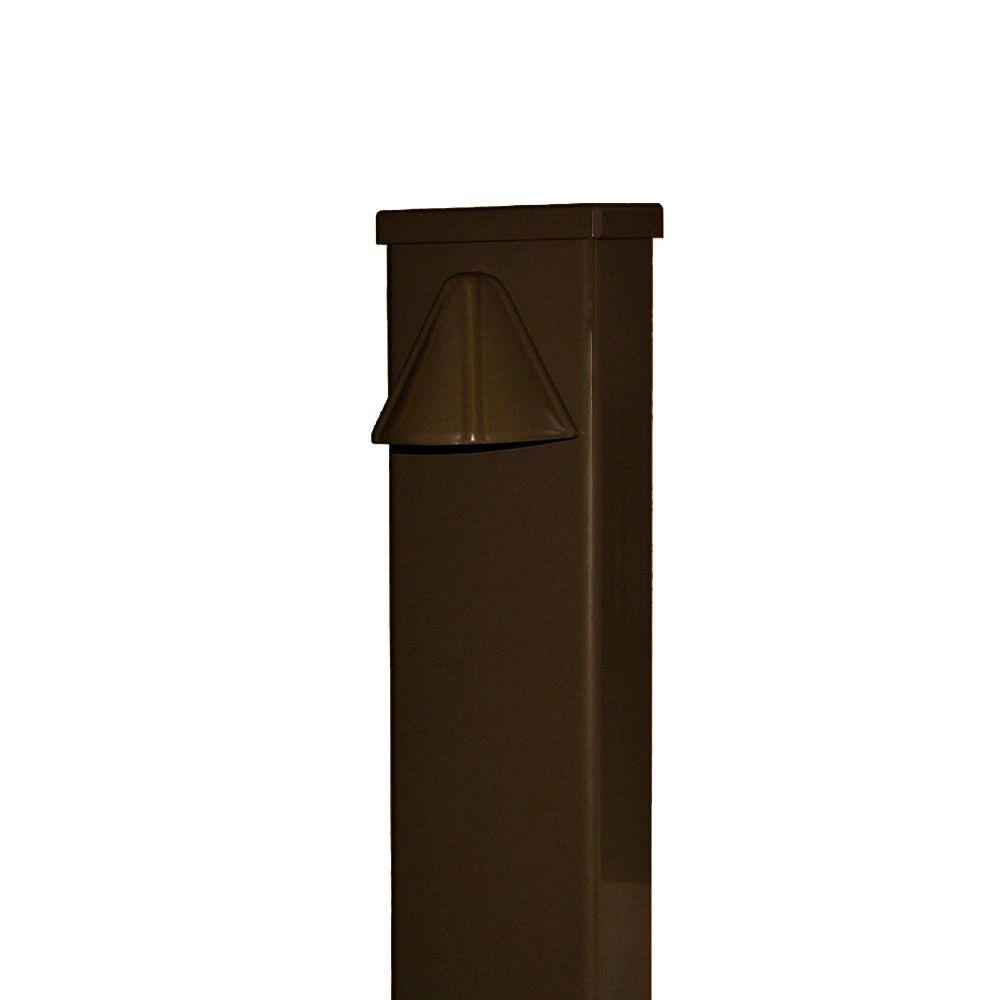 Nightscaping 1-Light Pathway Light Cast Aluminum Phosphatized Steel Earth Tone Powdercoat Finish-DISCONTINUED