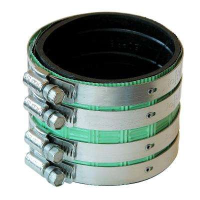 3 in. No Hub Cast Iron Neoprene Shielded Coupling