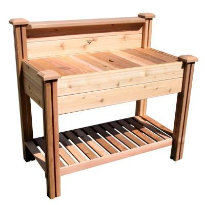 24 in. x 48 in. x 48 in. Potting Bench with Shelf