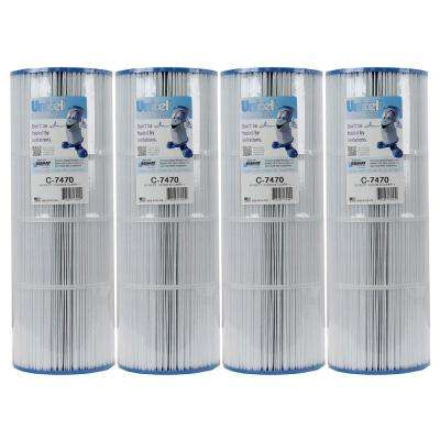 7 in. Dia Replacement Swimming Pool Filter FC1976 PCC80 for Pentair C7470 (4-Pack)