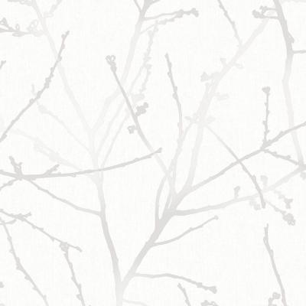 White Mica Innocence Removable Wallpaper