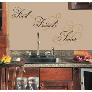 Good Food Peel and Stick Wall Decal