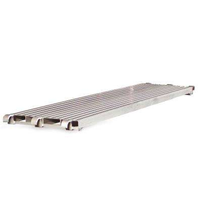 7 ft. x 1.5 ft. x .19 ft. Aluminum Scaffold Walk Board