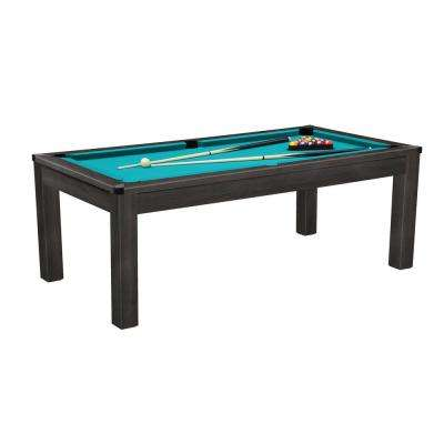 7 ft. 3-in-1 Billiard/Table Tennis/Solid-Top Table