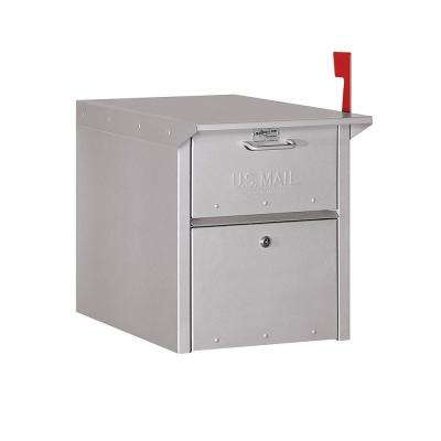 4300 Series Mail Chest in Silver