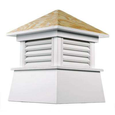 Kent 48 in. x 64 in. Vinyl Cupola with Wood Roof