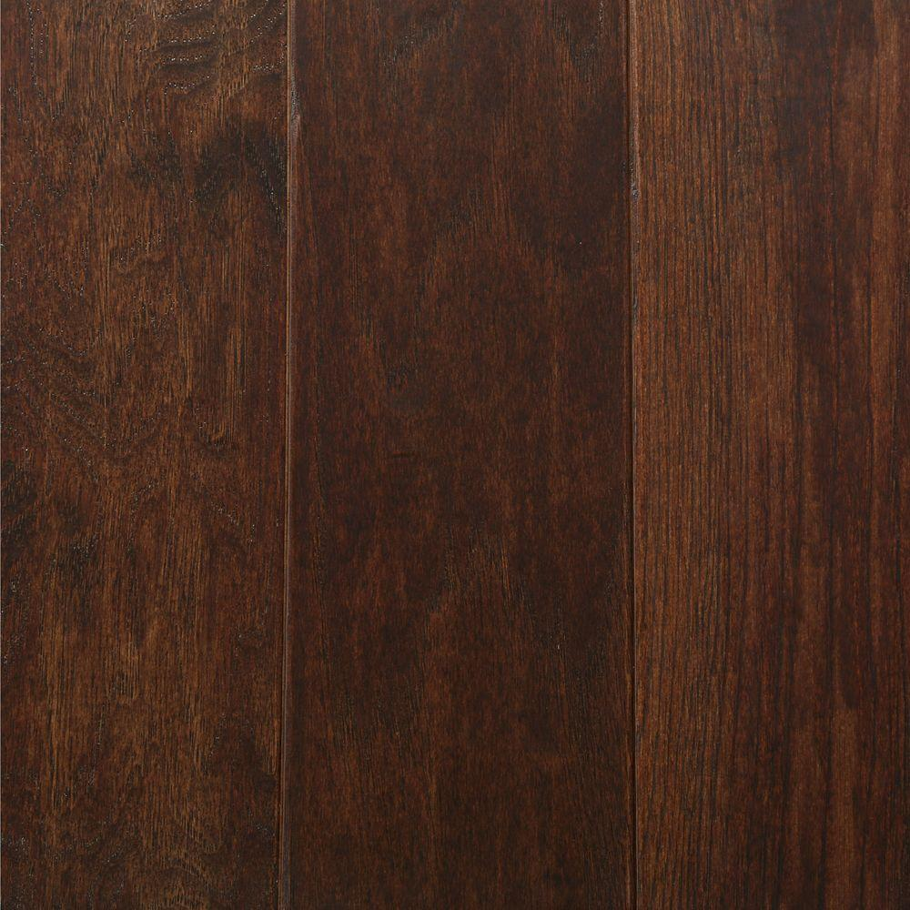 Dark Solid Hardwood Wood Flooring The Home Depot
