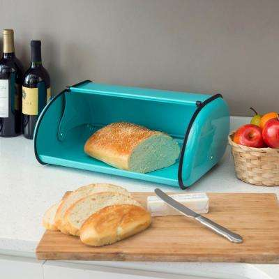Turquoise Bread Box Delectable Turquoise Bread Boxes Countertop Storage The Home Depot