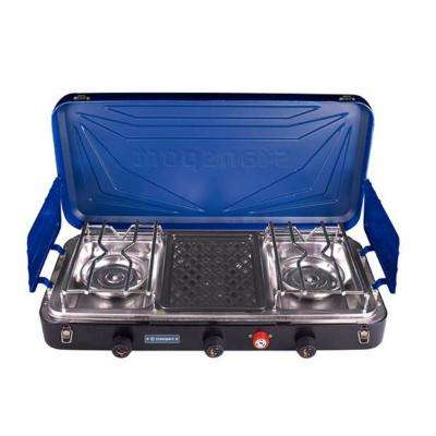 Outfitter Series 2-Burner and Grill Propane Stove