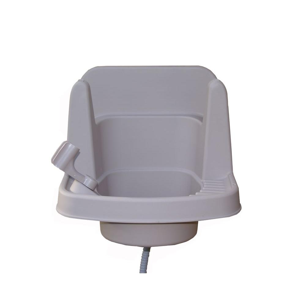 Clean it portable outdoor sink rsi s1 the home depot - Portable sink lowes ...