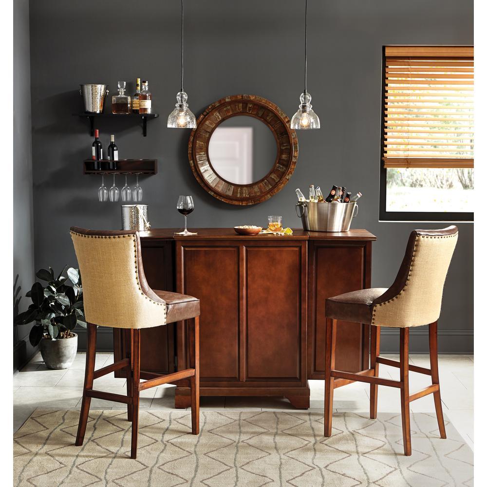 madera falsa maple 2 in faux wood plantation blind 35. Black Bedroom Furniture Sets. Home Design Ideas