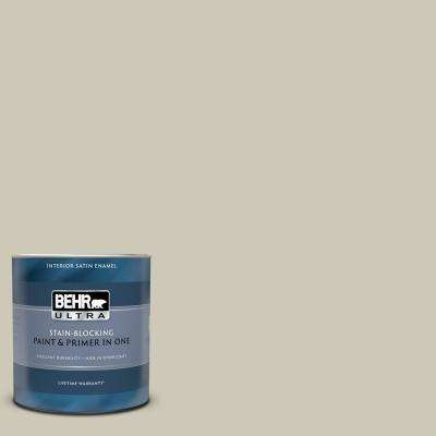1 qt. #UL190-16 Coliseum Marble Satin Enamel Interior Paint and Primer in One
