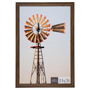 Pinnacle 24 inch x 36 inch Brown Poster Picture Frame by Pinnacle