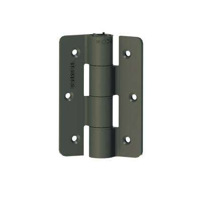 2.3 in. x 9.75 in. Aluminum Pewter Standard Butterfly Hinge (2-Pack)