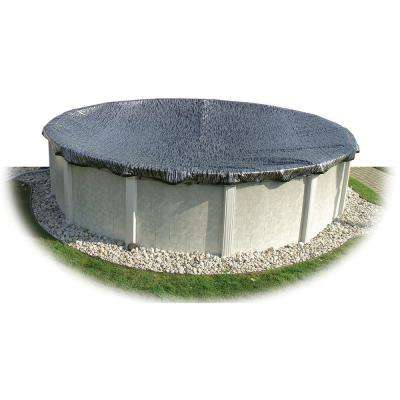 36 ft. x 36 ft. Round Black/Silver Above Ground Enviro Winter Pool Cover