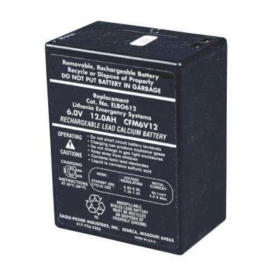 ELB 0612A 6-Volt Emergency Replacement Battery