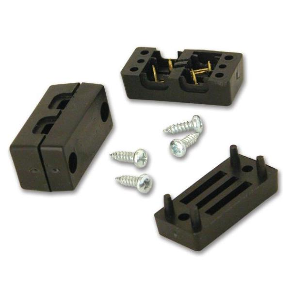 2 Pack Moonrays 11604 Cable Connectors for Low Voltage Landscape Lighting