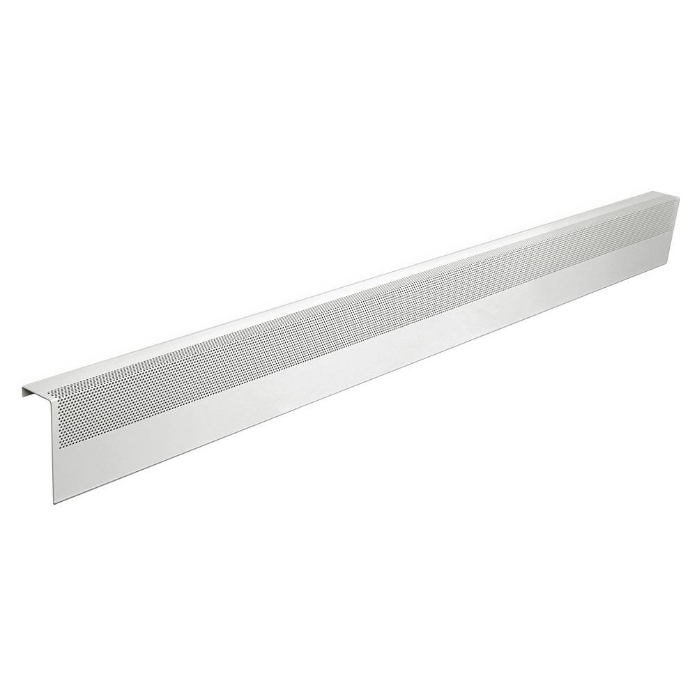 Basic Series 6 ft. Galvanized Steel Easy Slip-On Baseboard Heater Cover