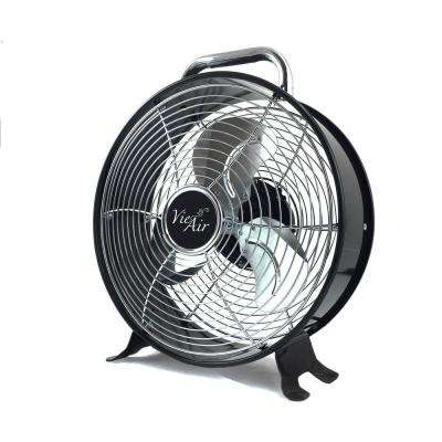 12 in. 2-Speed High Velocity Retro Metal Drum Fan