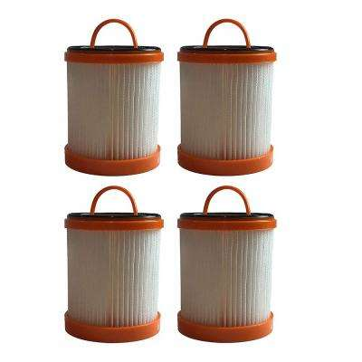 Dust Cup Filters Replacement for Eureka DCF3 Part 61825, 62136, 61825-R, ER-1880 (4-Pack)
