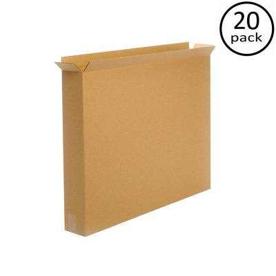 36 in. x 5 in. x 30 in. 20 Moving Box Bundle