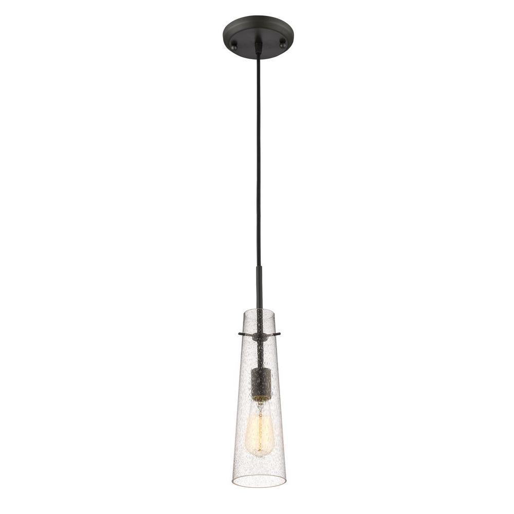 Filament Design Mayne 1-Light Bronze Mini-Pendant-CLI