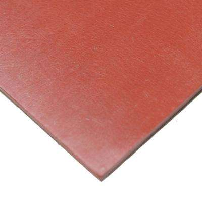 SBR 1/4 in. x 36 in. x 144 in. Red 65A Sheet