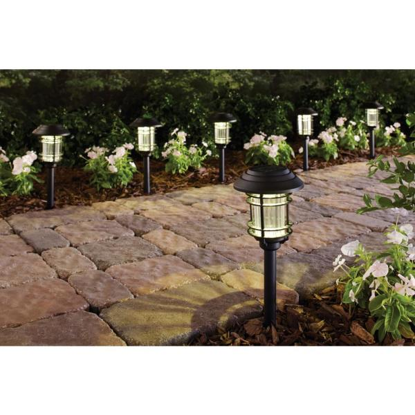 Solar Black Outdoor Integrated Led