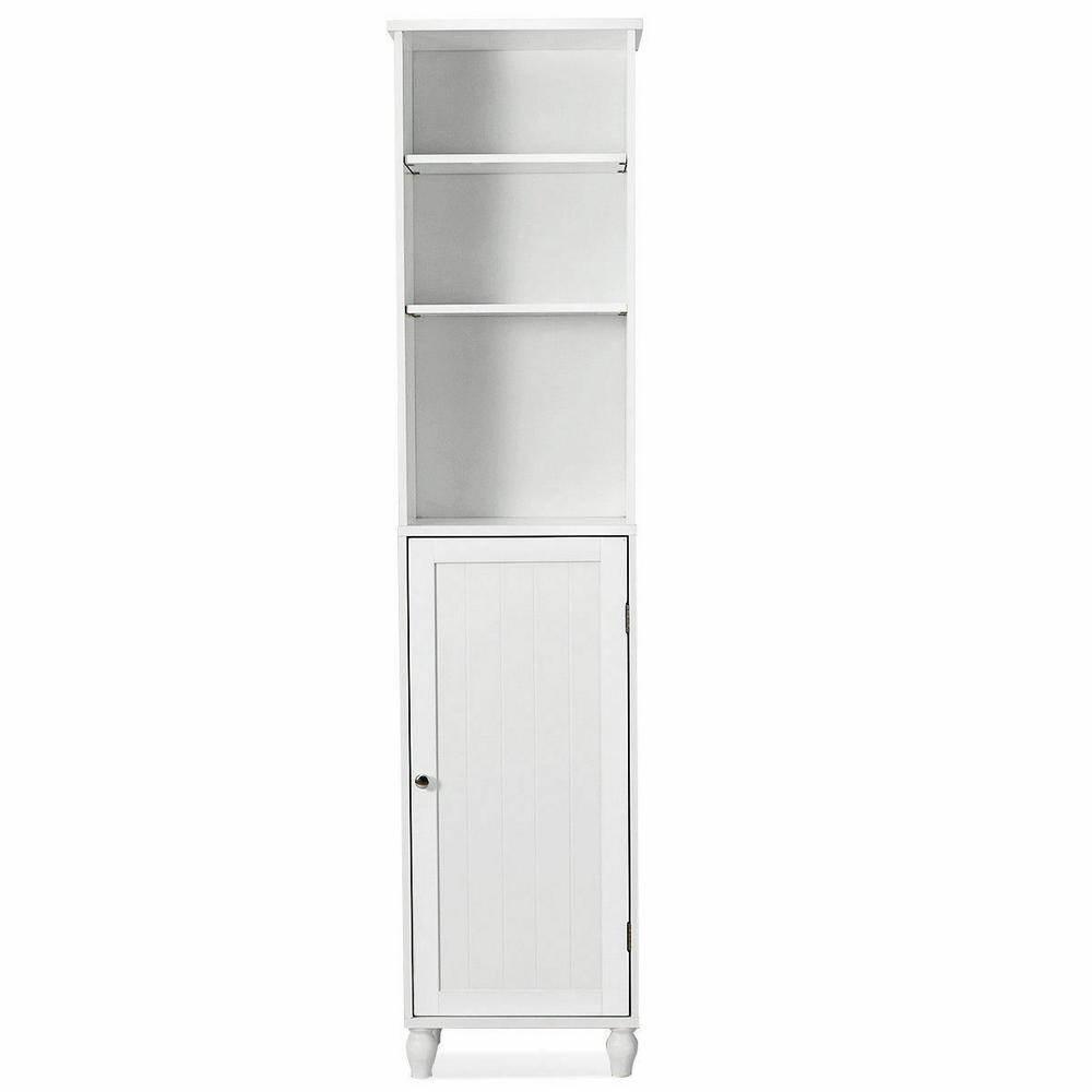 Bathroom Storage Cabinet Tower Bath