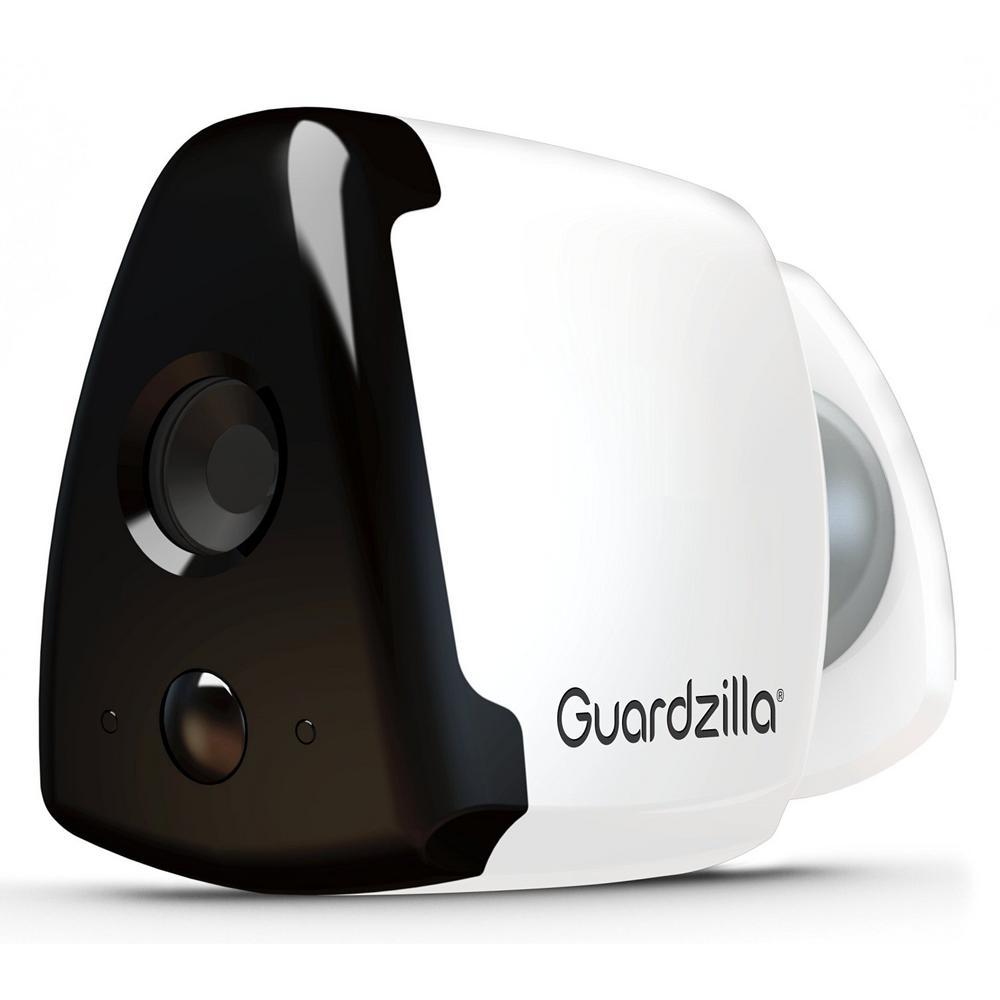 Indoor Outdoor Wireless HD Camera, White