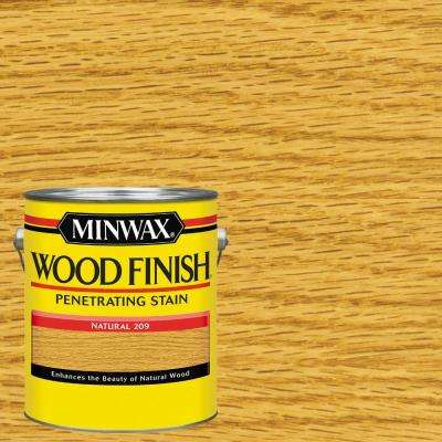 1 gal. Wood Finish Natural Oil Based Interior Stain (2-Pack)