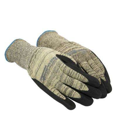 Size M Nitrile Coated Cut 3 Resistant Gloves