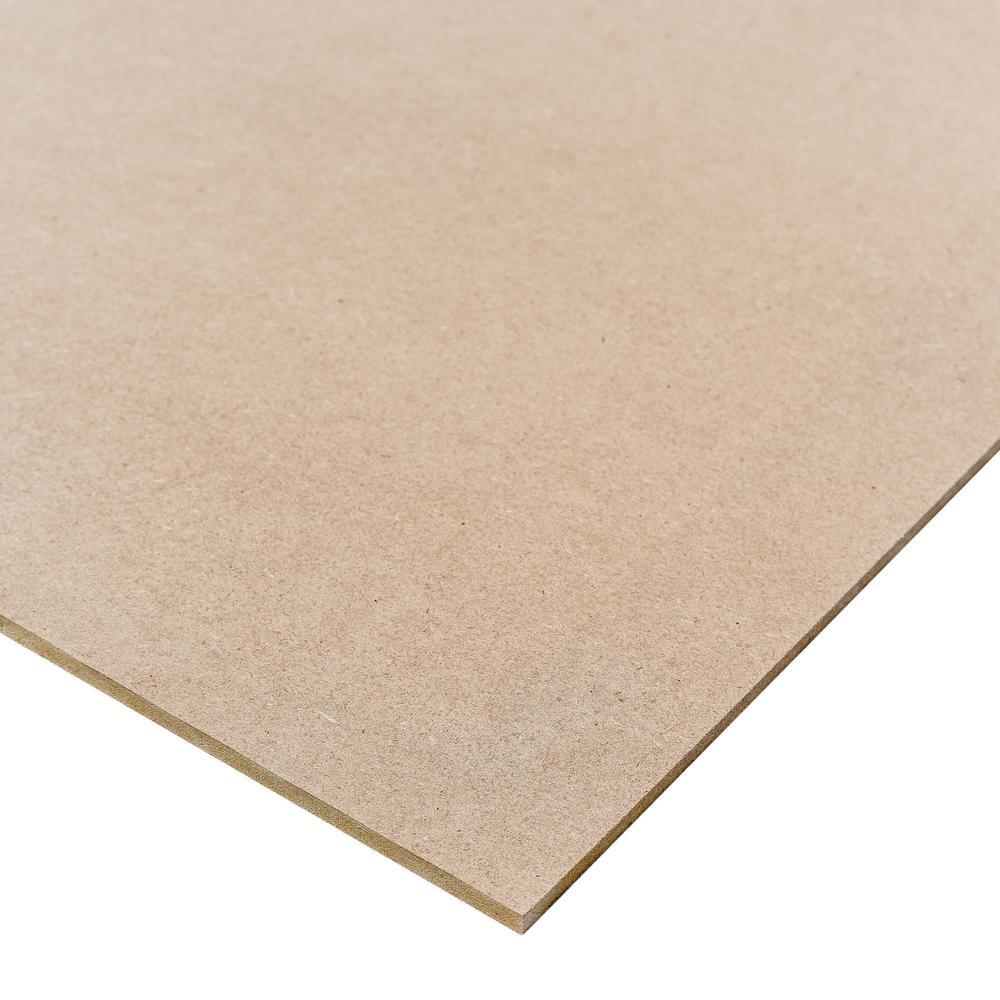 Medium Density Fiberboard (Common: 1/4 in. x 2 ft. x 4 ft.; Actual: 0.216 in. x 23.75 in. x 47.75 in.)