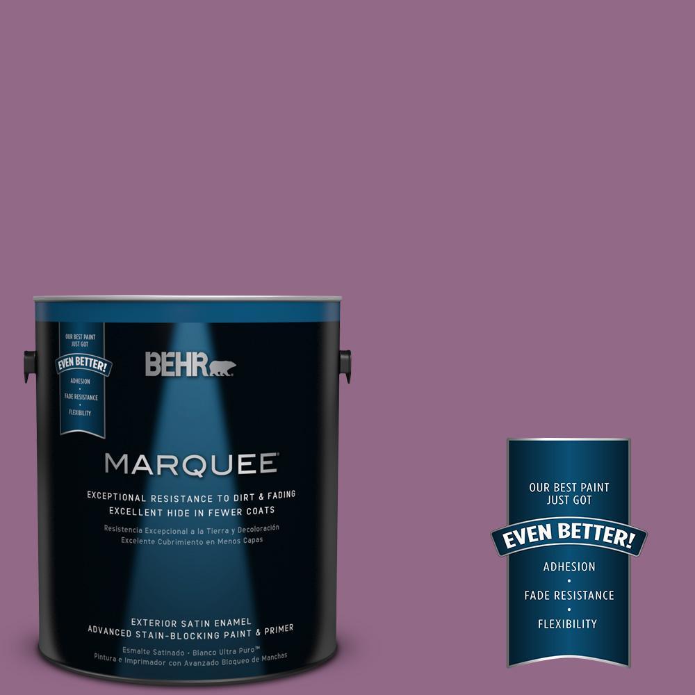 BEHR MARQUEE 1-gal. #680D-6 Lantana Satin Enamel Exterior Paint