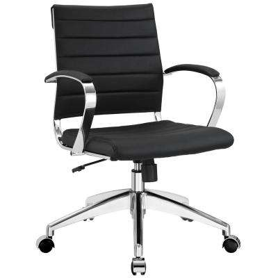 Jive Mid Back Office Chair in Black
