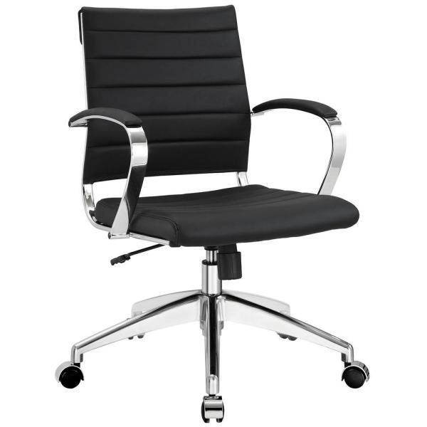MODWAY Jive Mid Back Office Chair in Black
