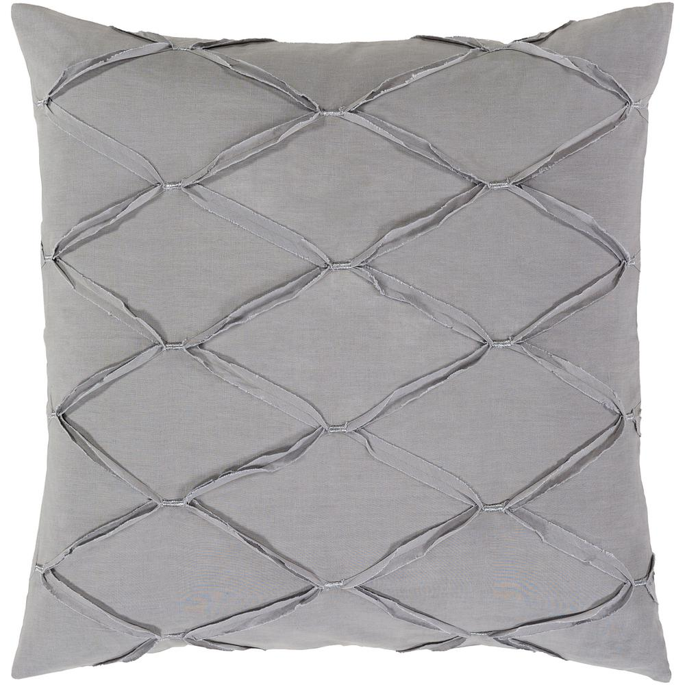 Alisa Medium Gray Euro Sham