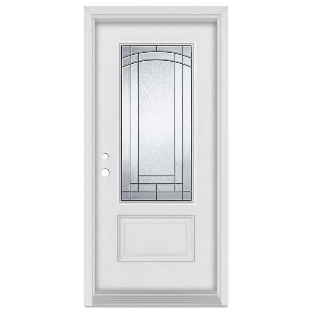 Stanley Doors Fiberglass Doors Front Doors The Home Depot